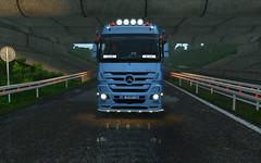 My Mercedes :3 (DejvikCZ) Tags: eurotruck2 mercedes truck actros