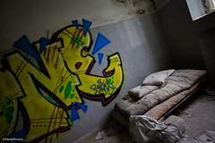 Cose di nessuno (paolaji) Tags: abandoned hospital bed asylum letto illness ospedale disagio abbandonato degrado limbiate mombello psichiatrico