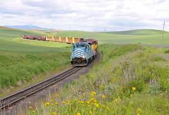 Eden, Washington (UW1983) Tags: trains railroads palouse shortlines washingtonidahorailway
