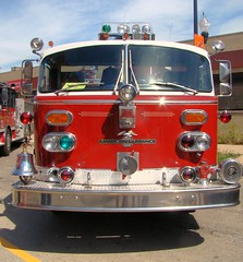 Somemore snap shots of the 5-11 Muster in Chicago 6/18/16. (Chicago Rail Head) Tags: fireapparatus oldnew firetrucks displays demonstationsrides classicfiretruck latestinservice getcloseup the511club cfd chicagofireacademy firemuseumofgreaterchicago exhillside il alf