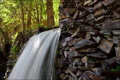 Kang (Poria) Tags: nature water rock stone waterfall view iran persia mashhad kang vilage khorasan slowshot khorasanrazavi