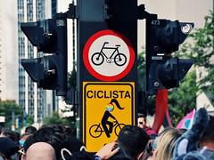 Biker (Billy W Martins ) Tags: party bike sign hair nikon doll sopaulo pride sp lgbt ciclista biker bikelane boneca trans genre placas avenidapaulista ciclovia sinalizao transportepblico gnero d7100 pride2016 20paradadoorgulholgbt