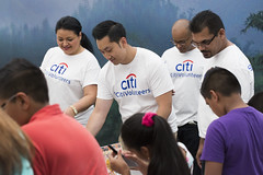 Citi Global Community Day at New York Hall of Science (NYSCI) Tags: nyc newyorkcity usa ny newyork unitedstates lego queens corona volunteer newyorkhallofscience citibank global citi brickfest a nysci