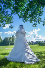 Virginie (Gremine) Tags: wedding girl photo juin femme mariage douai exterieur