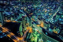 Vertigo Yokohama (Arutemu) Tags: asia asian japan japanese japon japonais japonesa japones japonaise kanagawa yokohama city cityscape canon ciudad citylights night nighttime nightscape nightshot urban