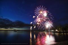 (jakearcher) Tags: composite long exposure fireworks tokina poulsbo hoodcanal 1116 fireworksjuly4th d7000 lofall