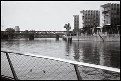 Frankfurt (2016) (santavirgilia) Tags: frankfurt main westhafen leicam2 2016 leicasummarit50mmf15 summarit5015 polypanfbeutler