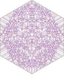 Naiad m/v CP (Joel Cooper) (blue paper) Tags: art face paper origami mask joel cooper fold tessellation folding naiad