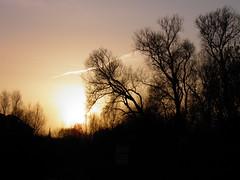 Sun set down...