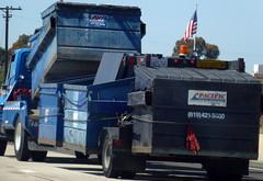 Dumpster Hauler (Photo Nut 2011) Tags: california trash truck garbage junk sandiego freeway dumpsters waste refuse aw sanitation garbagetruck trashtruck wastedisposal alliedwaste pacificwaste