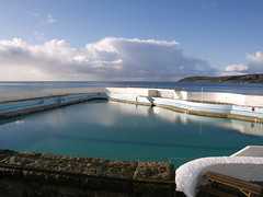 Jubilee Pool, Penzance (FrMark) Tags: uk england white building pool architecture swimming design thirties spring cornwall jubilee moderne gb april british artdeco deco 20th 30s lido penzance twentieth