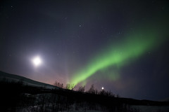 Northern light (dataichi) Tags: travel tourism nature norway canon long exposure north destination canon5d scandinavia northern nord norvge scandinavie