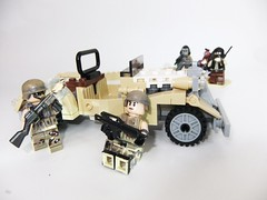 Gunfight (Plexyglass) Tags: lego soldiers guns modernmilitary