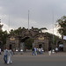 Addis Ababa, Ethiopia. Entrance to the university main campus and the Ethnological Museum. DSCN7401c
