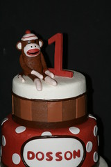 "sock monkey cake • <a style=""font-size:0.8em;"" href=""http://www.flickr.com/photos/60584691@N02/6988395552/"" target=""_blank"">View on Flickr</a>"