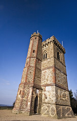 The tower at Leith hill (justyourcofchi) Tags: blue trees england sky sun tower history nature sunshine woodland point landscape spring high model woods flickr photographer view hill national trust leith forests chiarnold justyourcupofchicom justyourcupofchi