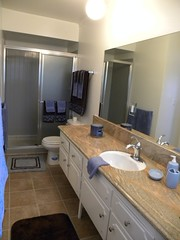 "CA-57 Bathroom with Walk-In Shower • <a style=""font-size:0.8em;"" href=""http://www.flickr.com/photos/76147332@N05/7042936141/"" target=""_blank"">View on Flickr</a>"