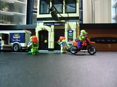 Why I'm switching banks Pt. 1 (Baricade) Tags: lego batman