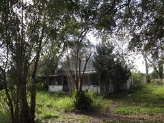 abandoned 1938 house in White City Florida (mainmanwalkin) Tags: abandoned florida whitecity portstlucie stluciecounty saintluciecounty