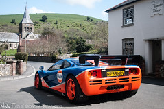 McLaren F1 GTR #12R Spotted In East Meon (NWVT.co.uk) Tags: uk blue orange car race photography photographer gulf very automotive f1 east mclaren r spotted 12 rare gtr livery in 12r meon hypercar nwvt