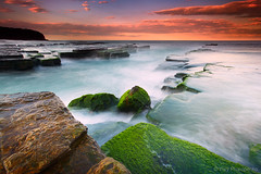 Sunset @ Turimetta Beach (-yury-) Tags: ocean sunset sea seascape beach australia turimetta