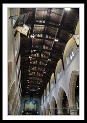 Saint Columbs ceiling (donegalblaze) Tags: ireland irish church river catholic cathedral prayer chapel historic aisle holy londonderry service walls mass northern alter protestant derry siege ulster walled foyle cityside doire maidencity londonder