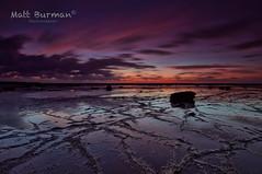 QUIET....PEACEFUL.... (matt burman) Tags: longexposure sunset seascape reflection sunrise landscape dawn dusk sydney australia nsw longreef northernbeaches mattburman