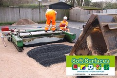 Rubberised SBR crumb granules artificial surface shock pad installation.jpg; (Soft Surfaces Ltd) Tags: pad artificial surface installation shock crumb granules sbr rubberised rubberisedsbrcrumbgranulesartificialsurfaceshockpadinstallationjpg
