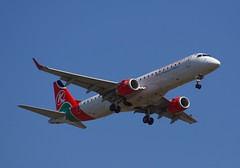 Kenya Airways Embraer E-170LR 5Y-KYR (Fasil.g) Tags: airplane kenya aircraft air jet add e airways airlines addis airliner embraer bole ababa 170lr 5ykyr