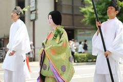 IMG_7574 (Christian Kaden) Tags: festival japan kyoto kultur culture clothes   kimono fest kioto kansai   kleidung aoimatsuri