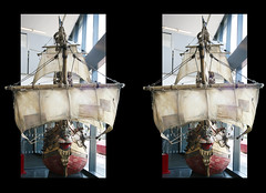 3D frame Pirates 2 (3D shoot) Tags: museum bristol stereoscopic stereophoto stereophotography 3d ship pirates sails stereo frame sail parallel ttf stereoscope oof aardman oob nickpark aardmananimations mshed bandofmisfits 3dshoot inanadventurewithscientsists