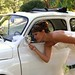 """Mariage Fiat 500 blanche • <a style=""""font-size:0.8em;"""" href=""""https://www.flickr.com/photos/78526007@N08/7241311172/"""" target=""""_blank"""">View on Flickr</a>"""