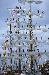 Cuauhtémoc - mexikanischer Großsegler, Baltic Sail, Travemünde, 2003