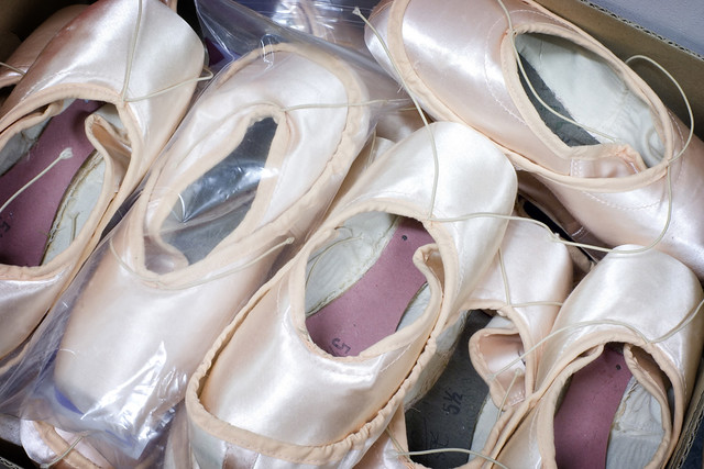 Backstage at The Royal Ballet © ROH 2012
