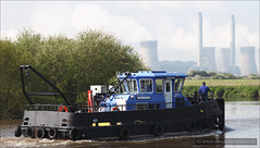 British Waterways Tug Maid Marion (roddersdad) Tags: may tugs 2012 rivertrent britishwaterways workboats maidmarion workingboats canon5dmark2 stoneybight wwwimagesbyclivecouk canonef24105mmlf4isusmlens copyrightclivejmaclennan
