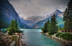 lake louise (Rex Montalban Photography) Tags: canada alberta lakelouise hdr banffnationalpark photomatix rexmontalbanphotography pse9