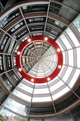 Circle (Teruhide Tomori) Tags: building art japan architecture tokyo construction  roppongi  fisheyelens   thenationalartcentertokyo