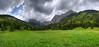 Dolina Małej Łąki - Wielka Polana Małołącka (Mariusz Petelicki) Tags: panorama hdr tatry giewont tatramountains mariuszpetelicki dolinamałejłąki
