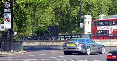 Brabus (BenGPhotos) Tags: slr london car silver mercedes benz mirror shiny wrap chrome mclaren mercedesbenz tuning supercar v8 spotting brabus tuned chromed hypercar 269d623