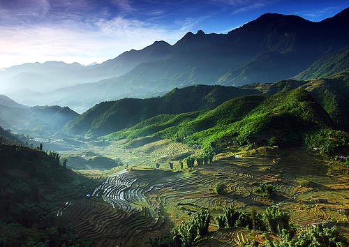 Paesaggio vietnamita