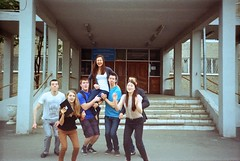 (Amy Fahrieva) Tags: school friends summer film fun jump guys