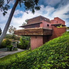 Sturges Residence (Chimay Bleue) Tags: california house brick home architecture frank design george los angeles southern architect socal lloyd cantilevered wright sturges brentwood lautner skyeview