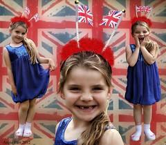 Jubilee Princess (rubyblossom.) Tags: england girl jack princess britain jubilee union great explore grandchildren queens software 31 challenge grandaughter topaz darcie worthy
