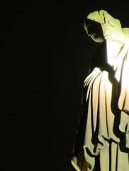 Dementor by night (shaggy359) Tags: st statue night square scotland edinburgh andrews royal bank figure hood cloak lit cloaked hooded dementor