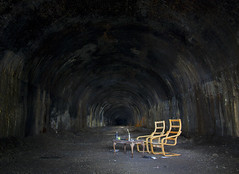 Kelvingrove Tunnel Chairs (Bora Horza) Tags: park urban rot abandoned train underground subway scotland scary chair rust chairs decay glasgow ghost central ruin tram nuclear rail railway tunnel bbq haunted forgotten richard scenary rusting doomsday subterranean exploration derelict destroyed westend kelvingrove decaying haunt apocalyptic ruined fallout urbex kelvingrovepark glasgowwestend kelvinside judgementday postapocalyptic beeching tabls glasgowcentralrailway beechingcuts abandonedscotland richardbeeching beechingsaxe kelvingrovetraintunnel holepassageway