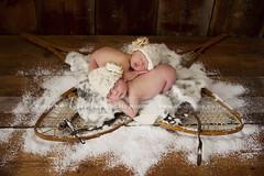 Winter Babies (Heidi Hope) Tags: winter snow twins newbornportrait newborngirl newbornphotographer heidihopephotography heidihope riphotographer wwwheidihopecom