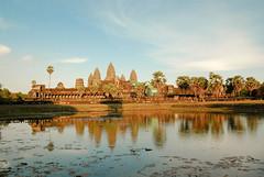 Angkor Wat at sundown