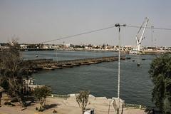 Pontoon Bridge, Shatt Al-Arab Waterway, Basra, Iraq