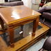 Ornate mahogony square coffee / occasional table