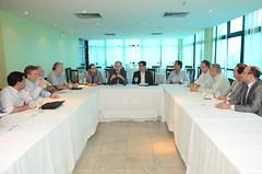 Inácio reunido com representantes do SINDIENERGIA/SFIEC